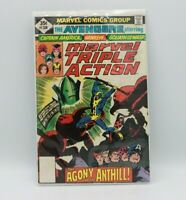 Marvel Triple Action Starring The Avengers Vol. 1 #38  1977
