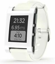 Pebble Smartwatch Arctic White, Silicone Band 301WH