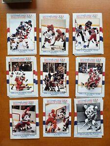 Team USA Hockey Collection of 65 Cards 1980 w Jim Craig, Eruzione, Herb Brooks