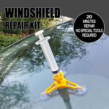 Car DIY Windscreen Windshield Wind Screen Repair Glass Chip Crack Tool Kit