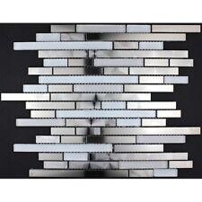 stainless steel mosaic tile mi-mul-wav