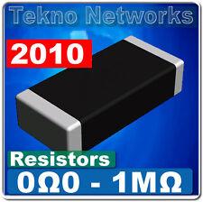 50X SMD / SMT 2010  Power Resistors - 50pcs / [ Range: 0 - 1M Ohm ]