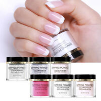 6pcs BORN PRETTY Nail Dip Dipping sYSTEM Powder Natural No ,No UV Light