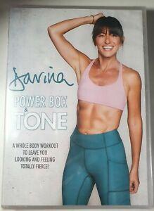 Davina: Power Box & Tone DVD Home Fitness Boxercise NEW & SEALED