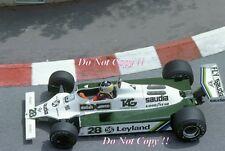 Carlos REUTEMANN Williams FW07B WINNER MONACO GRAND PRIX 1980 FOTOGRAFIA 2