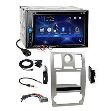 Pioneer 2018 DVD USB Bluetooth 2Din Sil Dash Kit Harness for 05-07 Chrysler 300