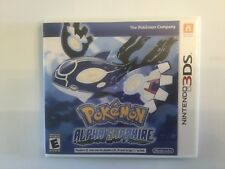 Replacement Case (NO GAME) Pokemon Alpha Sapphire - Nintendo 3DS