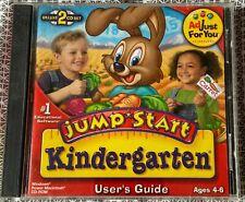 Jump Start Kindergarten Deluxe 2000- Windows & Mac - Children Early Learning