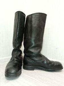 Boots Sapogi Yalovye Soviet Russian Military Uniform Officer Leather  Size 42