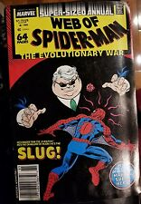 Web of Spider-Man annual 4 NM-