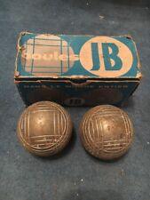 Ancienne Boule Pétanque JB E758 74cm 725gr