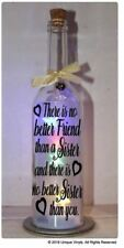 Wine Bottle Sticker - There is no better friend than a Sister - Vinly sticker
