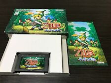 Gameboy Advance The Legend of Zelda The Minish Cap with Box,Manual Japan