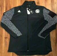 Mens Adidas Boston Marathon Supernova Storm Jacket Grey CW3581 Size 2XL NWT $100