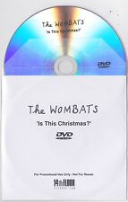 The Wombats - Is This Christmas? - Rare UK 1 track promo only DVD single