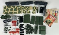 Vintage Fisher-Price Construx Marine Amphibian Force 6316 Manual Military Green