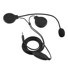 Motorcycle Helmet Headphone Earphone intercom Microphone For Mobile Phone