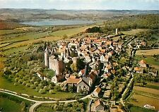 France Cote d'Or Chateauneuf stunning aerial view Postcard