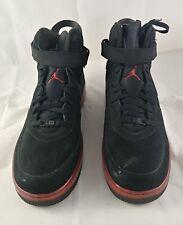 Nike Air Jordan Fusion 6 Black/Varsity Red AJF 6 343064-062 SZ17 BX66
