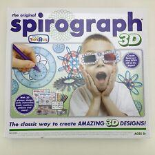 Original Spirograph 3D Game Kit Toys R Us Geometric Draw Design Hasbro Kahootz