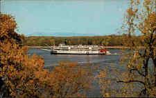Schiffsfoto-AK USA Amerika America um 1970 Schiff Ship Delta Queen Mississsppi