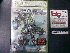 SUPREME COMMANDER XBOX 360 PAL ITA NUOVO SIGILLATO