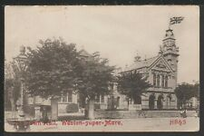 The Town Hall Weston-super-Mare Somerset Vintage Postcard