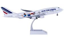 1:200 35CM JC WINGS AIR FRANCE BOEING 747-400 Passenger Airplane Diecast Model