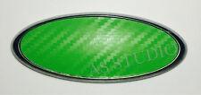 2x Ford 175x69mm Emblem Pflaume Folie(164x63) Mondeo Fiesta Focus Carbon grün