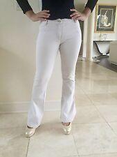 Stella McCartney Women's  Summer Off White Pants Jeans In Size It 40
