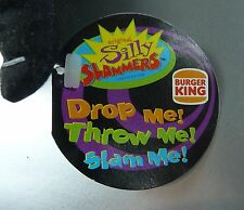 SILLY SLAMMERS BURGER KING SOFT PLUSH TOY VINTAGE 1999 SCELLÉ / N°2