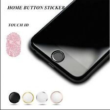 Aluminum Touch ID Home Button Sticker for apple iphone 8 8 plus 7 7 plus 6 6s