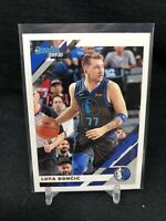 Luka Doncic 2019-20 Panini Donruss Basketball #46 DALLAS MAVERICKS 2ND YEAR Y97