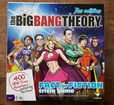 CARDINAL The Big Bang Theory: Fact or Fiction Trivia Game FAN EDITION
