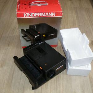 Diaprojektor Kindermann diafocus TL 250 Maginon 2,8/85mm Will-Wetzlar 2 x 250W