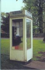 White Telephone Box Beverley Hull East Yorkshire 1994 David Shaw postcard
