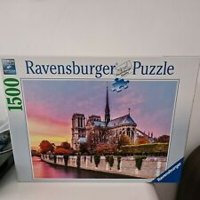 Ravensburger Notre Dame Puzzle Picturesque 1500 Piece Jigsaw Ages 12 Years +