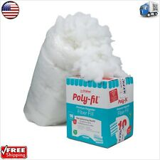 Polyester Filling Fiber Stuffing 10 Pound Pillow Toy Bag -- No added Chemicals
