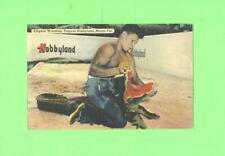 F POSTCARD ALLIGATOR WRESTLING TROPICAL HOBBYLAND MIAMI FLORIDA VINTAGE CARD