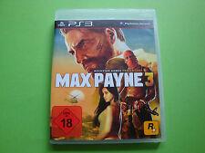 Max Payne 3 (Sony PlayStation 3, 2012)