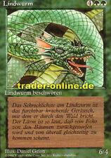 2x Lindwurm (Craw Wurm) Magic limited black bordered german beta fbb foreign deu