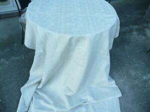 tissu ancien toile à matelas rayée fleuri