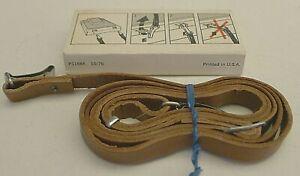 Polaroid SX-70 Alpha Instant Camera TAN Leather Camera Neck Strap & Sleeve  C
