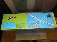 "Vintage Avoncraft ""CUB"" 2 Channel R/C Soarer / Plane / Glider Kit, 60"" Wing Span"