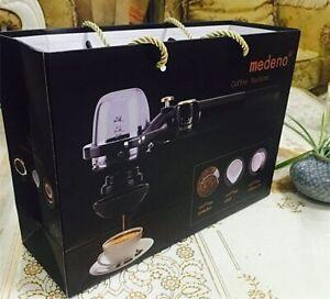 Mini Coffee Machine Hand Press Portable Italian Coffee Powder Capsule Machine