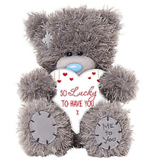 ~❤️~TATTY TEDDY Soft Toy Bear Me To You M7 SO LUCKY TO HAVE YOU HEART 17cms~❤️~