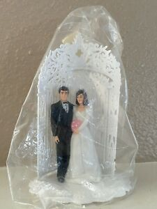 Wedding Cake Topper plastic Halloween-a-rize it!? Finally Divorced Party?!