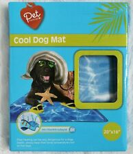 """New listing Dog Cooling Mat Pet Cat Non-Toxic Gel Bed Pad Self Cool Cushion 20"""" x 16"""""""