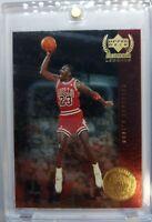 *Rare* 1999 Upper Deck Century Legends Most Memorable Shots #MJ1 Michael Jordan