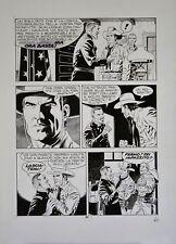 """Tavola Originale di Fabio Civitelli, Tex n. 475 """"il Presagio"""" (1997) Pag.60"""
